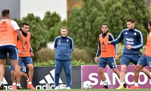 Edgardo Bauza Argentina Training