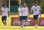 Argentina training World Cup Qualifier