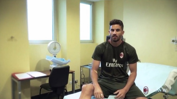 Mateo Musacchio AC Milan medical