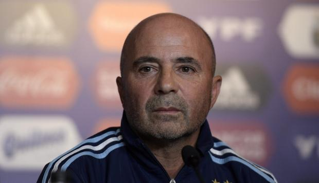 Jorge Sampaoli Argentina press conference