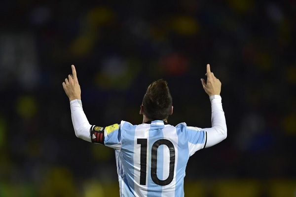 Lionel Messi Argentina Ecuador Press Conference