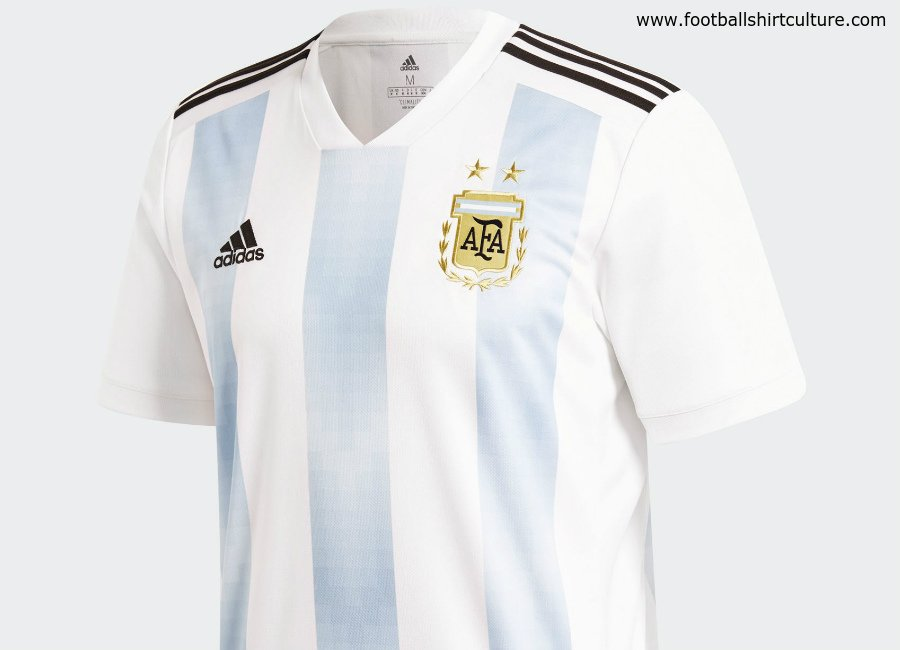 official photos 74f18 531d2 OFFICIAL: Argentina's 2018 World Cup Kit – Mundo Albiceleste