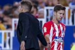 Luciano Vietto Diego Simeone Atletico Madrid