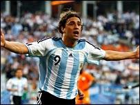 Hernan Crespo Ivory Coast Argentina