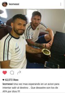 Instagram Messi