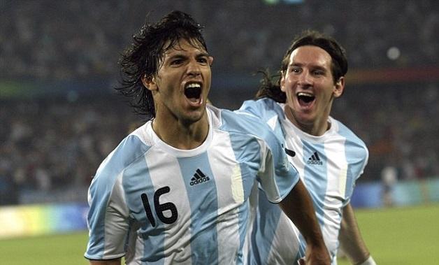 Aguero Messi