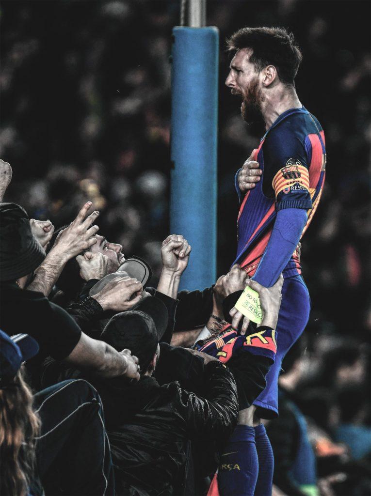 Lionel Messi Barcelona PSG