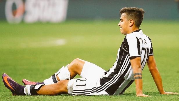 Hasil gambar untuk Paulo Dybala injury