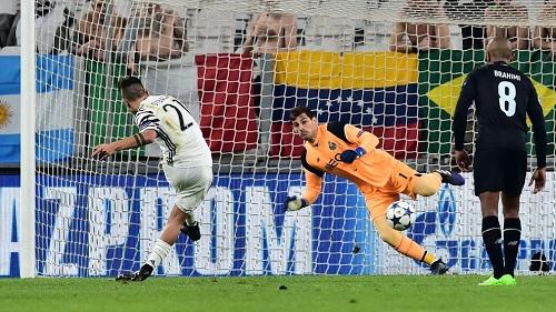 Paulo Dybala penalty