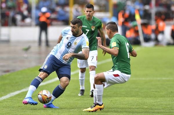 Lucas Pratto Argentina Bolivia