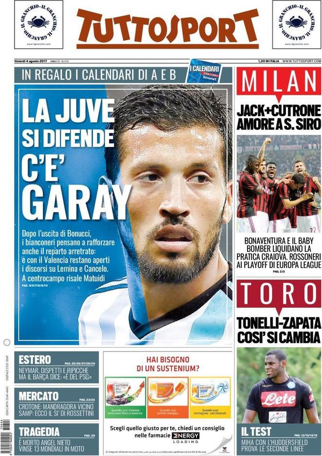 Ezequiel Garay Juventus