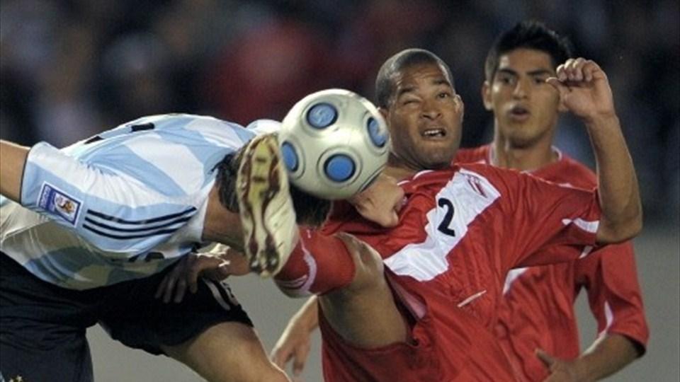 Martin Palermo Argentina Peru