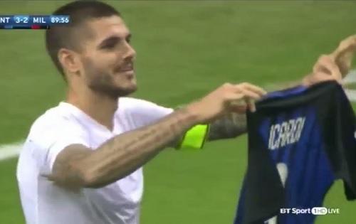 Mauro Icardi Inter shirt