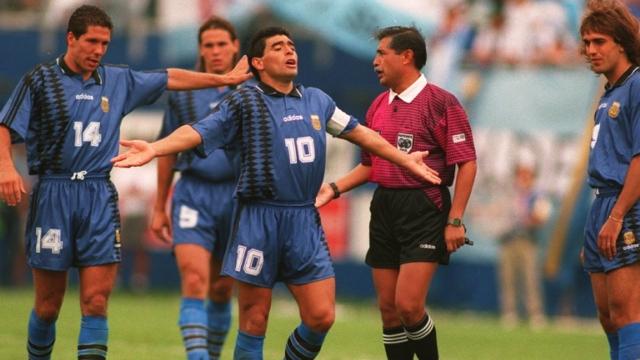 Diego Simeone Diego Maradona Argentina