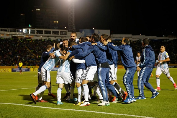 Argentina's 2017 Year in Review: Argentina sealed 2018 World Cup qualification vs. Ecuador
