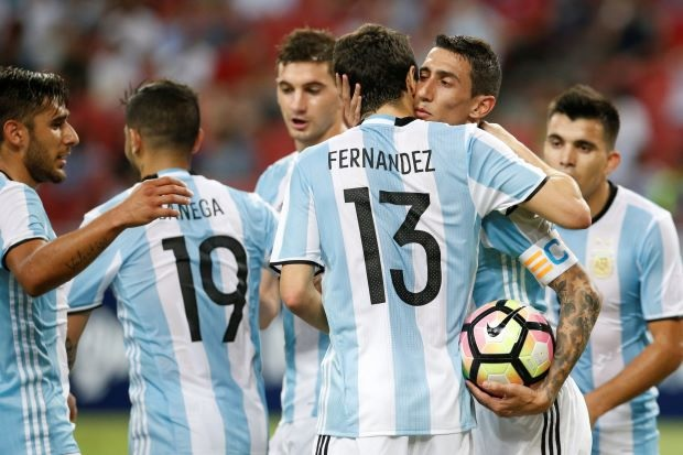 Argentina's 2017 Year in Review: The 6-0 victory vs. Singapore was Argentina's biggest scoreline of the year.