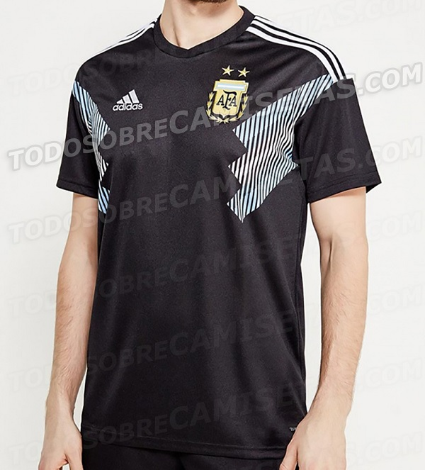 Argentina away kit World Cup
