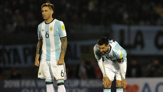 Lucas Biglia Lionel Messi